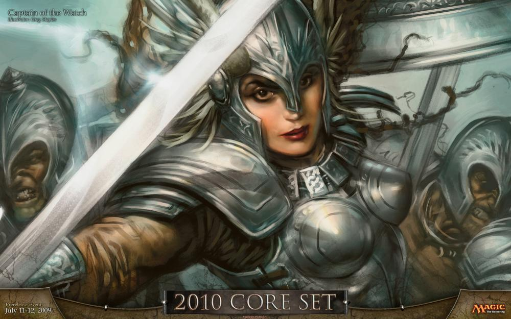 Captain of the Watch - Core Set - Magick the Gathering